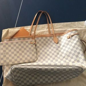 Authentic Neverfull mm tote DA GM